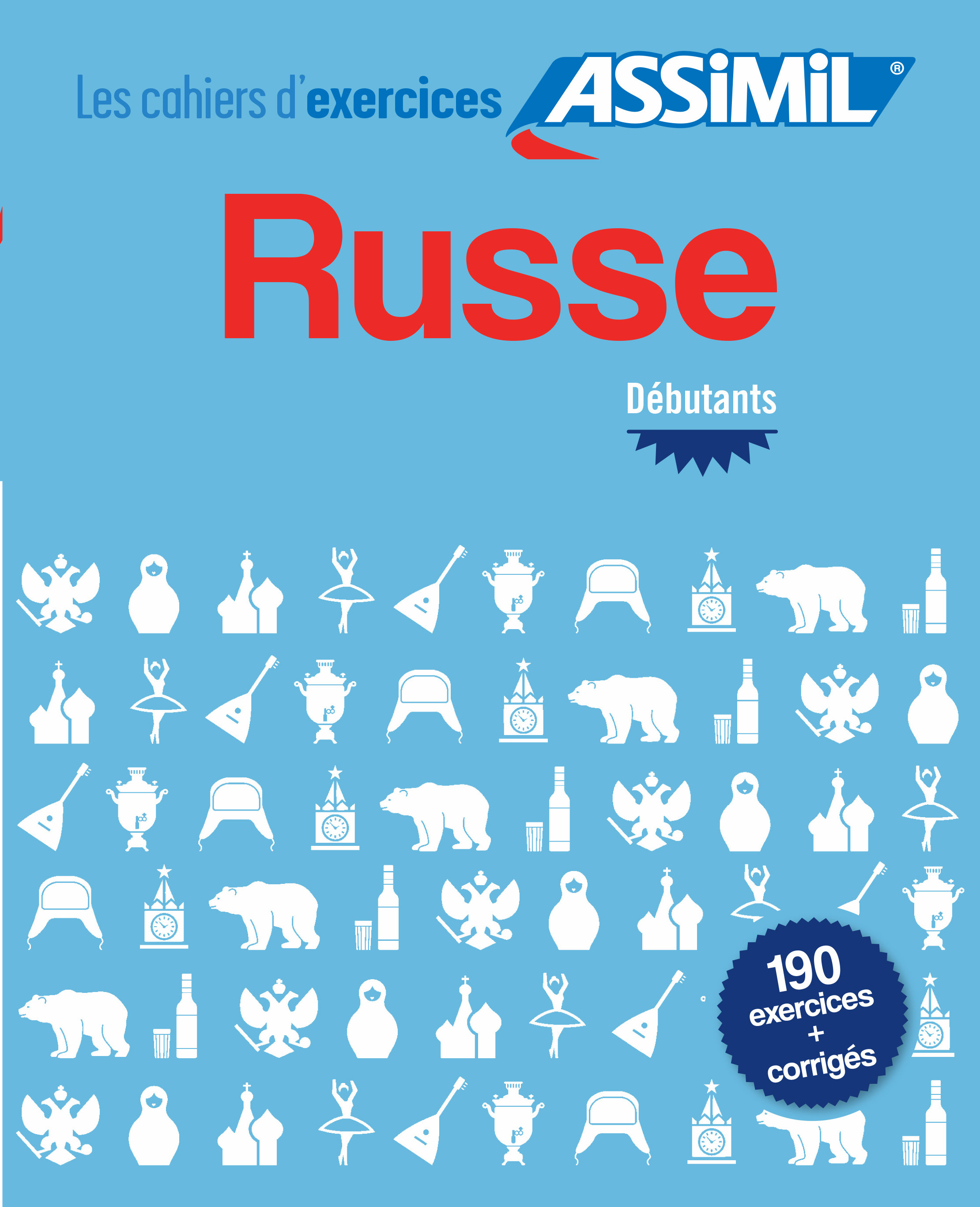 CAHIER EXERCICES RUSSE DEBUTANT