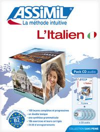 PACK CD ITALIEN 2014