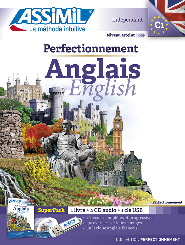 SUPERPACK USB PERF. ANGLAIS 2016