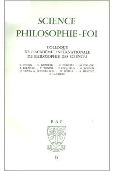 SCIENCE - PHILOSOPHIE - FOI