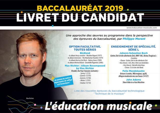 BAC 2019 - OPTION MUSIQUE -LIVRET DU CANDIDAT