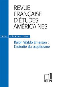 REVUE FRANC ETUDES AMERIC 91 EMERSON