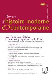 REVUE D HIST MODERNE & CONTEMP N51/4 04