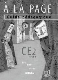A LA PAGE CE2 LIVRE DU PROFESSEUR