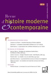 REVUE D HIST MODERNE CONTEMP N52 4