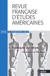 REVUE FRANC ETUDES AMERIC N132 POETIQUES