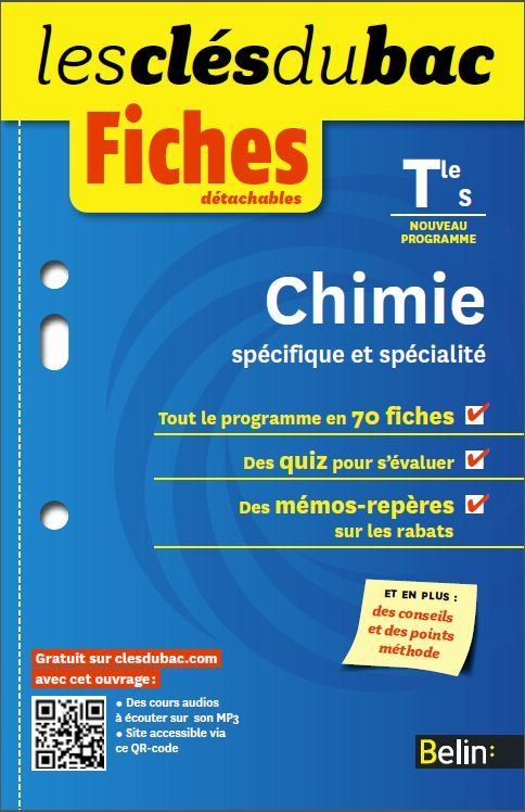 CLES DU BAC FICHES CHIMIE TS