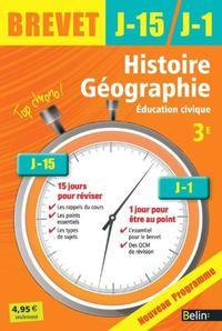HIST GEO EDUCATION CIVIQUE 3E