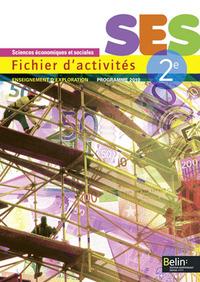 SES 2E - FICHIER D ACTIVITES 2013