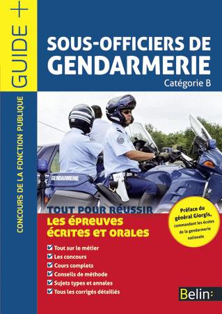 SOUS OFFICIERS DE GENDARMERIE