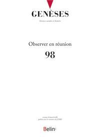 GENESES N98 OBSERVER EN REUNION