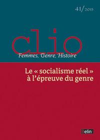 CLIO N41 SOCIALISME REEL A L EPREUVE DU