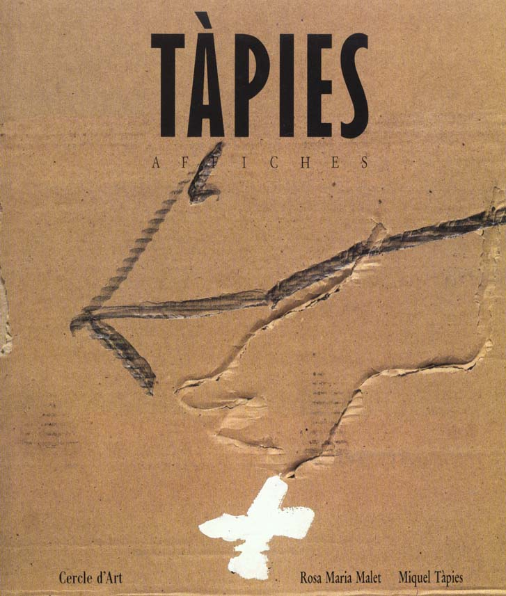 TAPIES AFFICHES