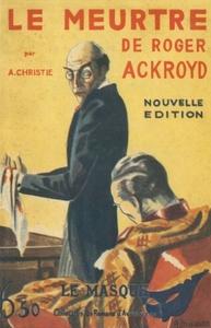 LE MEURTRE DE ROGER ACKROYD - EDITION COLLECTOR