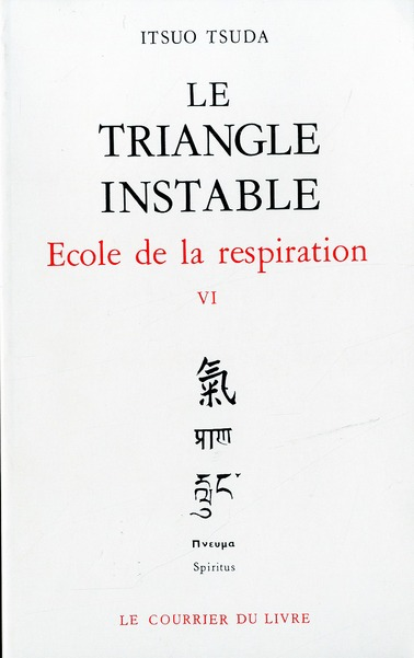 LE TRIANGLE INSTABLE - ECOLE DE LA RESPIRATION, VOL.6
