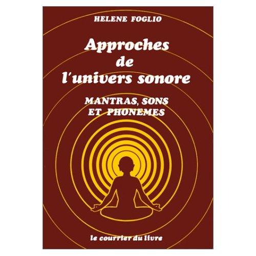 APPROCHES DE L'UNIVERS SONORE