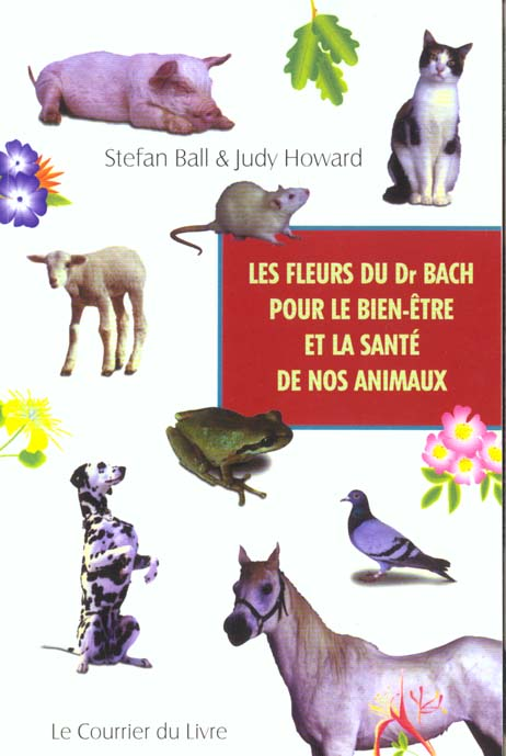 FLEURS DU DR BACH POUR LE BIEN ETRE DE NOS ANIMAUX