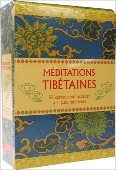 COFFRET CARTES DE MEDITATIONS TIBETAINES
