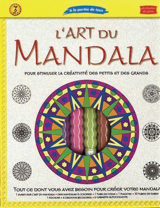 ART DU MANDALA (L')- COFFRET