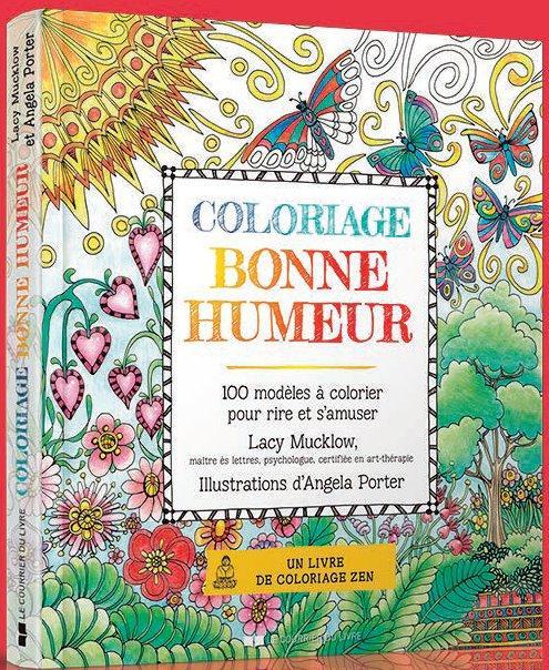 COLORIAGE BONNE HUMEUR