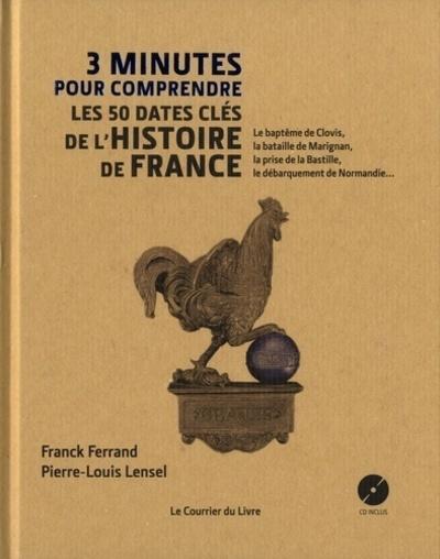 3 MINUTES POUR COMPRENDRE LES 50 DATES CLES DE L'HISTOIRE DE FRANCE