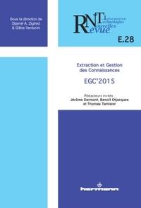 REVUE DES NOUVELLES TECHNOLOGIES DE L'INFORMATION, N  E.28. - EXTRACTION ET GESTION DES CONNAISSANCE