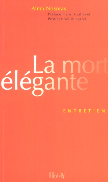 MORT ELEGANTE (LA)
