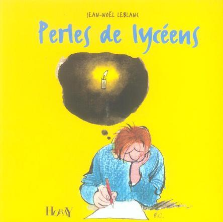 PERLES DE LYCEENS 2E EDT