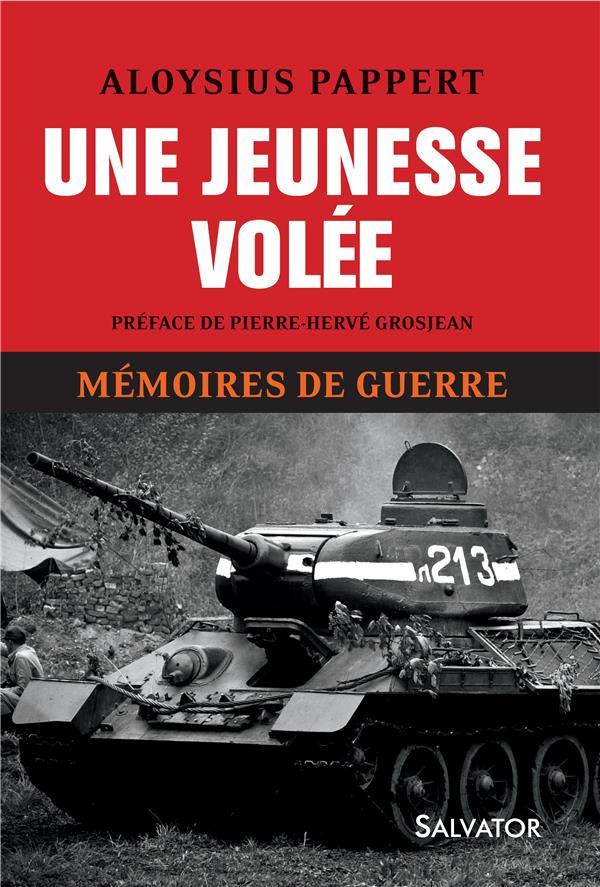 1. UNE JEUNESSE VOLEE. MEMOIRES DE GUERRE T1