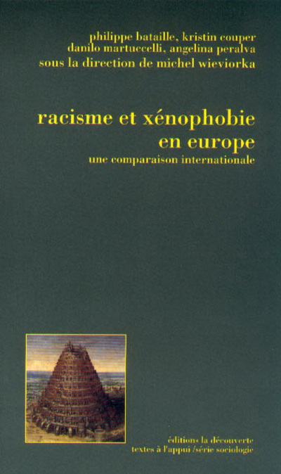RACISME ET XENOPHOBIE EN EUROPE UNE COMPARAISON INTERNATIONALE