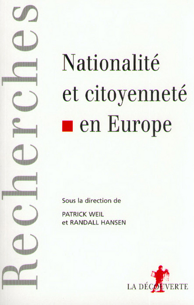 NATIONALITE ET CITOYENNETE EN EUROPE