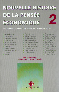 NOUVELLE HISTOIRE DE LA PENSEE ECONOMIQUE - TOME 2
