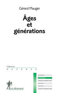 AGES ET GENERATIONS