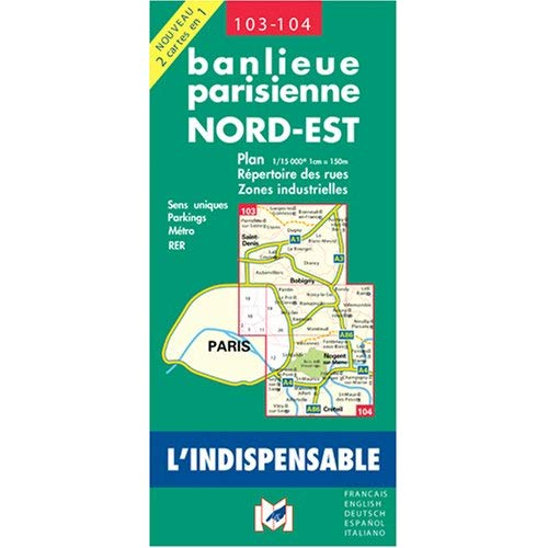 C103 BANLIEUE PARISIENNE NORD EST