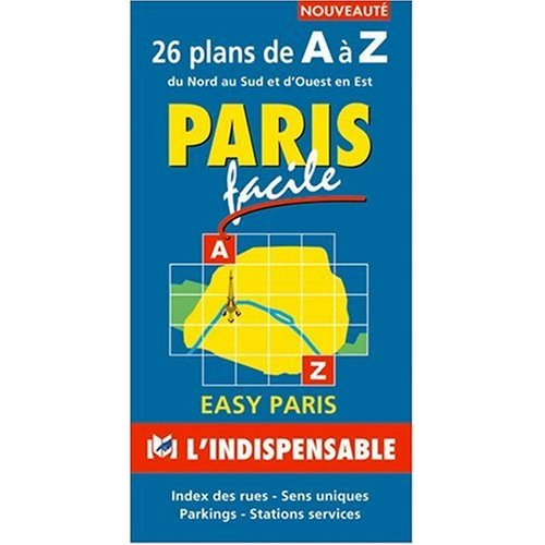 R10 PARIS FACILE 26 PLANS DE A A Z