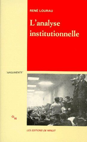 L ANALYSE INSTITUTIONNELLE