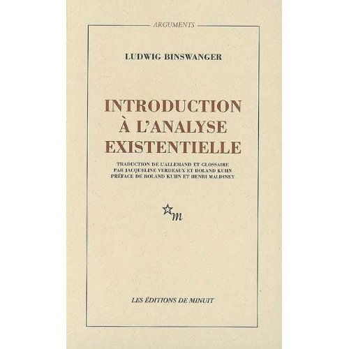 INTRODUCTION A L ANALYSE EXISTENTIELLE
