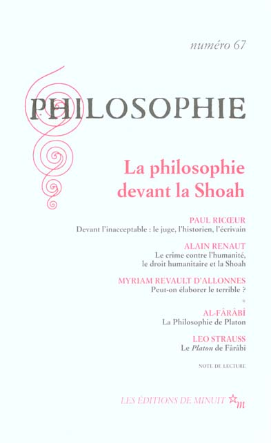 PHILOSOPHIE 67