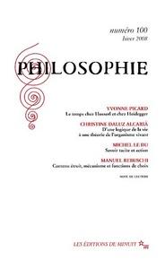 PHILOSOPHIE 100