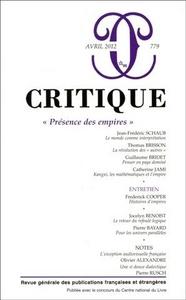 REVUE CRITIQUE 779