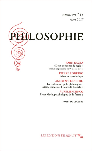 PHILOSOPHIE 133