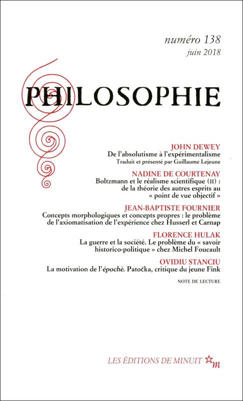 PHILOSOPHIE 138