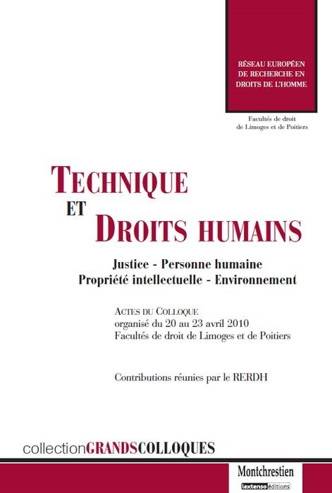 TECHNIQUE ET DROITS HUMAINS