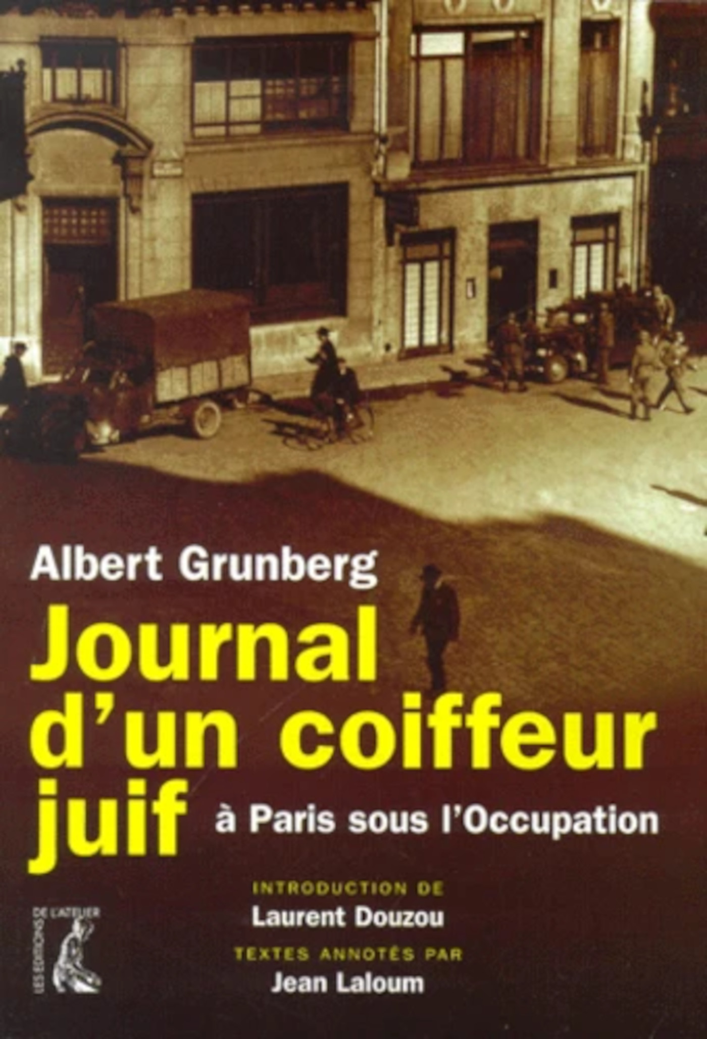 JOURNAL D'UN COIFFEUR JUIF A PARIS SOUS L'OCCUPATION