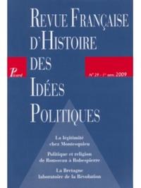 REVUE FRANCAISE D'HISTOIRE