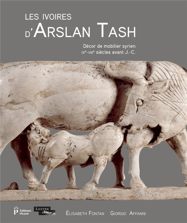LES IVOIRES D'ARSLAN TASH - DECOR DE MOBILIER SYRIEN (IXE-VIIIE S. AV. J.-C.)