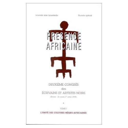 REVUE PRESENCE AFRICAINE N  XXIV, XXV, 2EME CONGRES DES ECRIVAINS ET ARTISTES NOIRS, ROME : 26 MARS