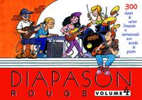 DIAPASON ROUGE VOLUME 4 CARNET DE CHANTS DE VARIETES