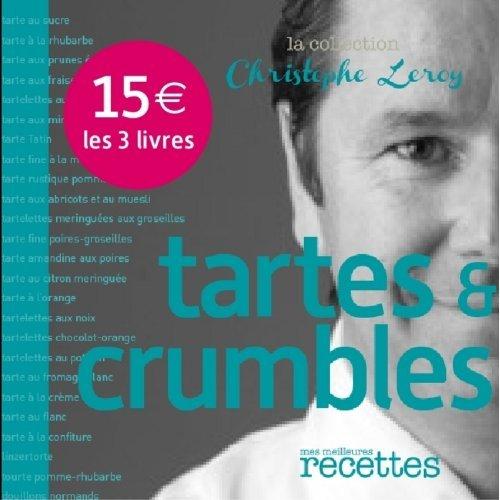 PACK DE 3 TITRES C.LEROY : PATES, TARTES ET COMPAGNIE...