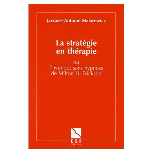 STRATEGIE ET THERAPIE